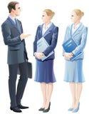 Bedrijfsleiders vector illustratie
