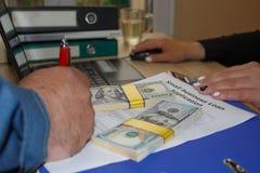 Bedrijfsleningen slecht krediet geen zakelijk onderpand Bedrijfsleningenopstarten stock foto