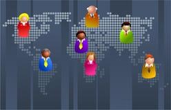 Bedrijfsleven vector illustratie