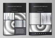 Bedrijfsmalplaatjes voor brochure, tijdschrift, vlieger, boekje Het malplaatje van het dekkingsontwerp, abstracte vectorlay-out i royalty-vrije illustratie