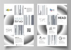 Bedrijfsmalplaatjes voor brochure, tijdschrift, vlieger, boekje Het malplaatje van het dekkingsontwerp, abstracte vectorlay-out i vector illustratie
