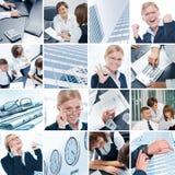 Bedrijfsmengeling stock foto