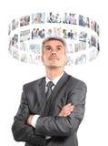 Bedrijfsmens Stock Afbeeldingen
