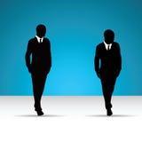 Bedrijfsmens in kostuum Royalty-vrije Stock Afbeeldingen