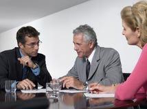 Bedrijfsmensen in Conferentiezaal royalty-vrije stock foto