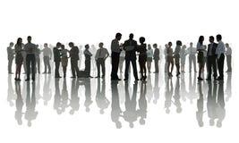 Bedrijfsmensen die een Groepsbespreking hebben Royalty-vrije Stock Afbeelding