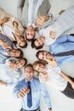 Bedrijfsmensen die op u richten Stock Afbeelding