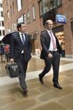 Bedrijfsmensen in Londen Royalty-vrije Stock Fotografie