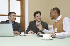 Bedrijfsmensen in Vergadering stock foto