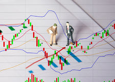 Bedrijfsmensenconcept voor start bedrijfsconcept Royalty-vrije Stock Afbeelding