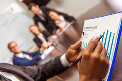 Bedrijfsmensenconferentie Stock Foto's