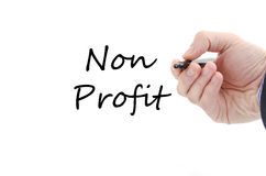 Bedrijfsmensenhand en pen Royalty-vrije Stock Afbeelding