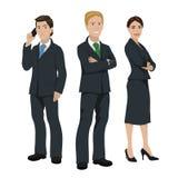 Bedrijfsmensenillustratie Stock Afbeeldingen