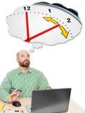 Bedrijfsmensenzomertijd Stock Afbeeldingen