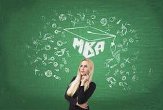 Bedrijfsonderwijs Stock Foto's