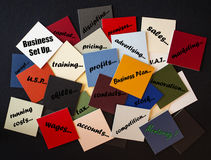 Bedrijfsopstelling - Behoeftehoede? Royalty-vrije Stock Foto's