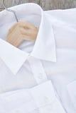 Bedrijfsoverhemd met streepjescode royalty-vrije stock afbeelding
