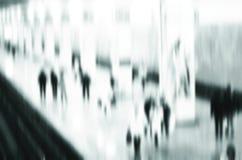Bedrijfspassagiersgang bij metropost stock afbeeldingen