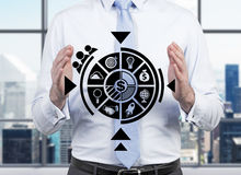 Bedrijfsregeling Royalty-vrije Stock Afbeelding