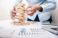 Bedrijfsrisico, Strategie, het conceptenidee van het Planningsbeheer Royalty-vrije Stock Afbeelding