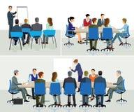 Bedrijfsseminarie en spreker royalty-vrije illustratie