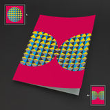 A4 bedrijfsspatie abstracte vectorillustratie Royalty-vrije Stock Afbeeldingen