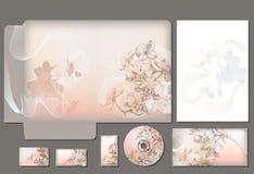Bedrijfsstijlmalplaatje Stock Afbeeldingen