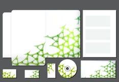 Bedrijfsstijlmalplaatje Stock Afbeelding