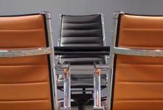Bedrijfsstoelen stock afbeelding
