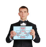 Bedrijfsstrategie Stock Fotografie
