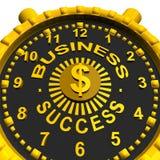 Bedrijfssucceshorloge Stock Afbeelding