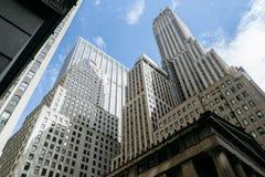 Bedrijfstorens in New York Royalty-vrije Stock Foto