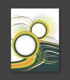 Bedrijfsvliegermalplaatje, brochure of dekkingsontwerp Royalty-vrije Stock Foto's