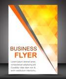 Bedrijfsvliegermalplaatje of collectieve banner, brochure Royalty-vrije Stock Foto
