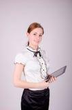 Bedrijfsvrouw Royalty-vrije Stock Afbeeldingen