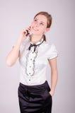 Bedrijfsvrouw Stock Foto's