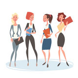 Bedrijfsvrouwengroep Team Human Resources Colleagues royalty-vrije illustratie
