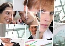 Bedrijfswerknemers royalty-vrije stock afbeeldingen
