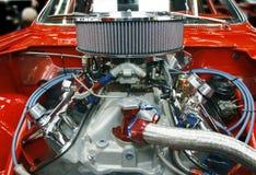 Bedrogen uit motor van een auto Stock Fotografie