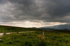 Bedrohende Himmel Stockfotos