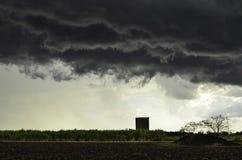 Bedrohende Wolken Stockbilder
