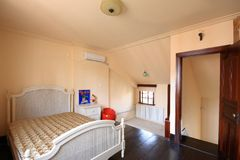 Bedroom. A bedroom of an old house in Shanghai Royalty Free Stock Photography