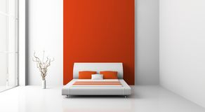 Bedroom royalty free illustration