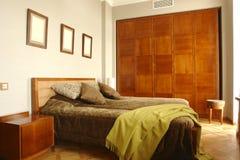 Bedroom. A bedroom with big shrank Royalty Free Stock Photo
