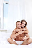 In the bedroom Royalty Free Stock Photography