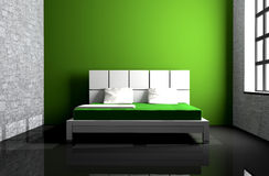 Bedroom stock illustration