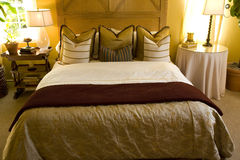 Bedroom 1803 Royalty Free Stock Photo