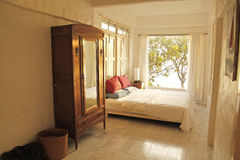 Bedroom. Sea View suite relex time Stock Photography