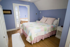 Bedroom. A Nice Little Girls Room stock image