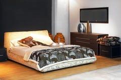 Bedroom angle Royalty Free Stock Photography
